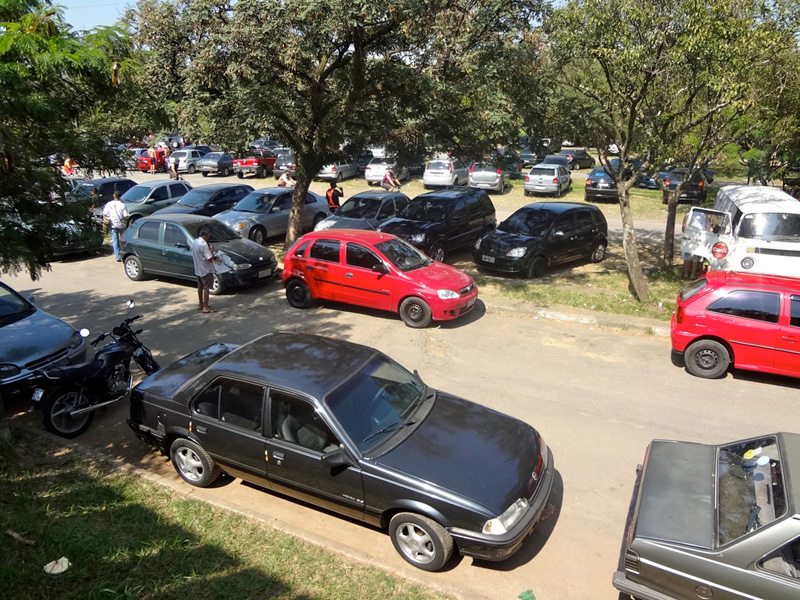 Parque Ecológico Tietê Estacionamento