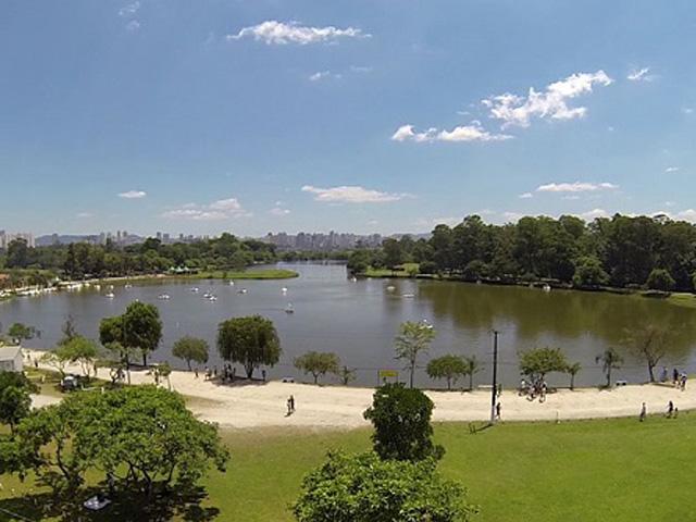 Vista do Lago Parque Ecológico do Tietê
