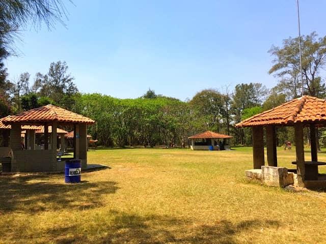 Quiosques para churrasco Parque Ecológico do Tietê